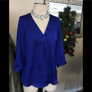 THE LIMITED ROYAL BLUE TOP SZ S